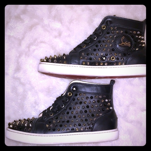 Christian Louboutin Shoes - Christian Louboutin Ladies Spiked Sneakers